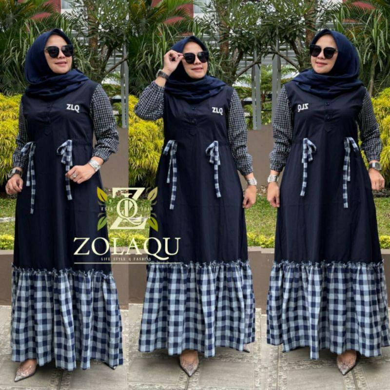 Gamis Zolaqu Original Terbaru Shopee Indonesia