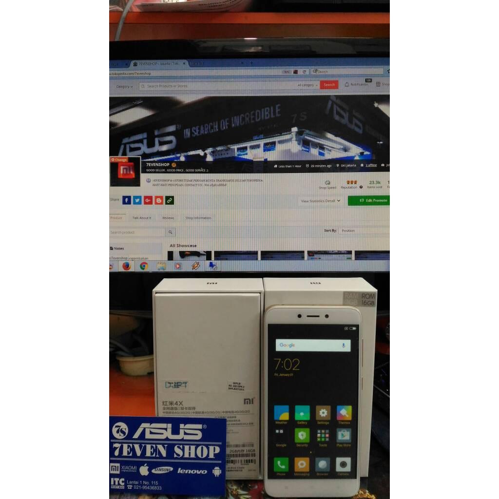 Diskon Xiaomi Redmi 4x Ram 2gb Internal 16gb Gold Shopee Indonesia 2 Gb 32 Garansi Distributor