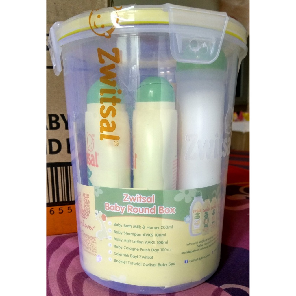 Zwitsal Baby Spa Small Box Round Shopee Indonesia Twin Pack Bath Natural Milk Ampamp Honey Pouch 450 Ml