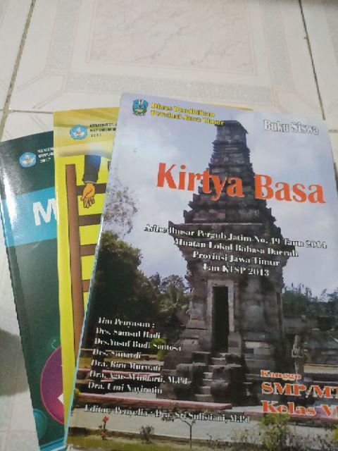 Buku Bahasa Jawa Kirtya Basa Kelas 7 Kurikulum 2013 Edisi Revisi 2018 Shopee Indonesia