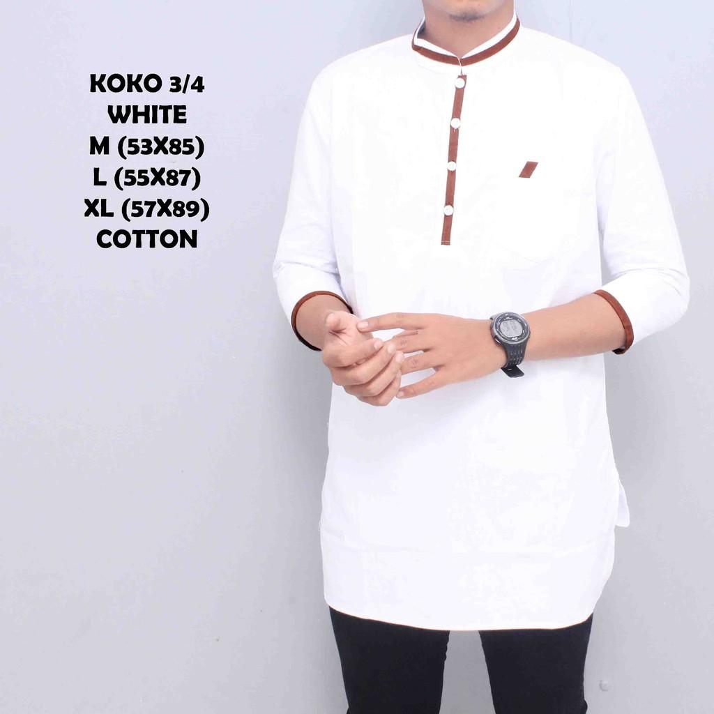 Baju Muslim Koko Pakistan Al Faruq Trendy Dan Stylish Original Fashion Modern Kemeja Pria Lebaran Kks 31 Arra Shopee Indonesia