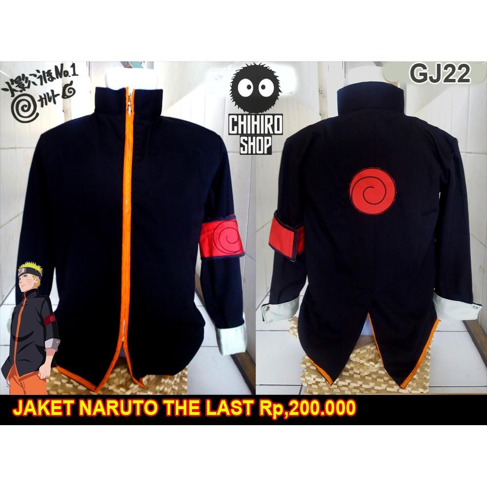 jaket naruto the last movie 76fe14fd23