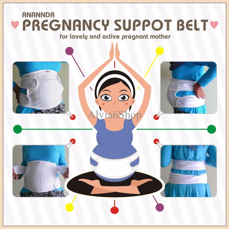 Sabuk Hamil Pregnancy Belt Shopee Indonesia Ananda Reguler Hijau Tosca