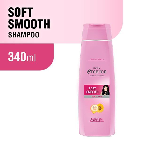 Emeron Shampoo Soft Smooth Botol 340ml-1