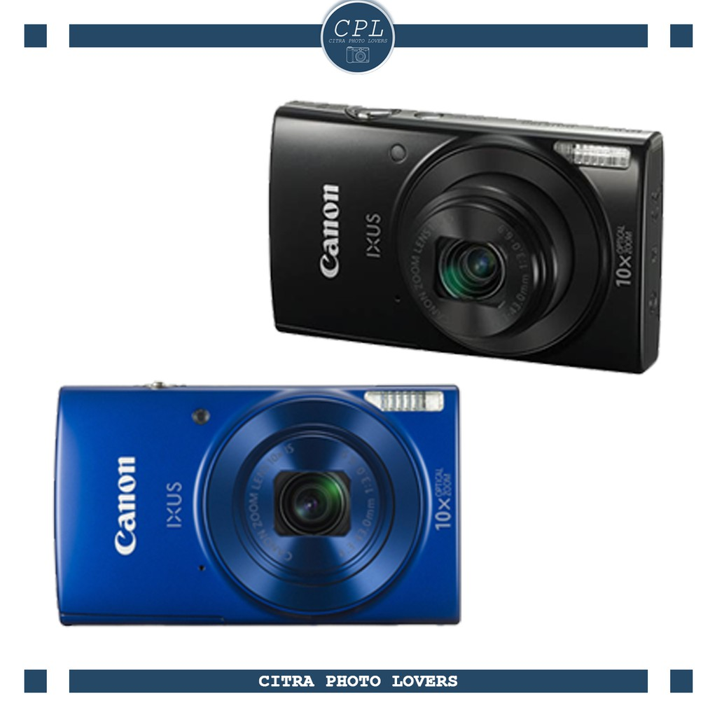 Canon Powershot Sx430 Is Paket Ekslusif Shopee Indonesia Ixus 190 Garansi Resmi Datascrip Blue