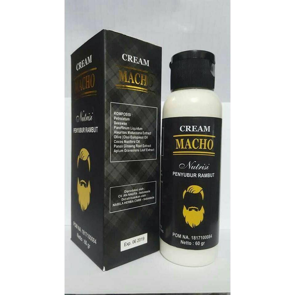 Jual Cream Macho Original 60 Gram Nutrisi Penyubur Rambut Termurah Green Coffee Extract Ashsihah Cilm Shopee Indonesia