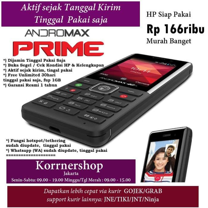 Handphone - Handphone & Tablet Hp Smartfren Andromax Prime Hp Murah 4G Lte Bisa Whatsapp . Stok