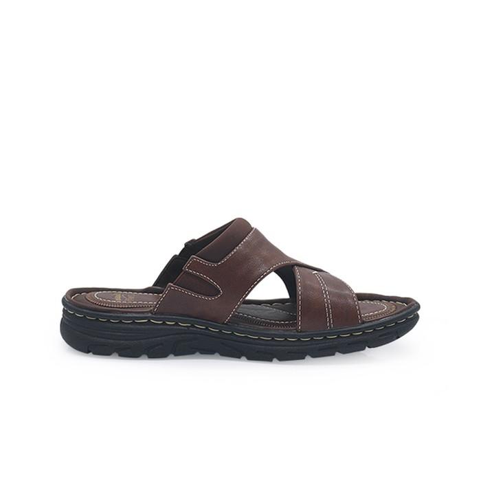 Sepatu Bata Sandal Pria Jim C Coffe 8714158 40 Shopee Indonesia