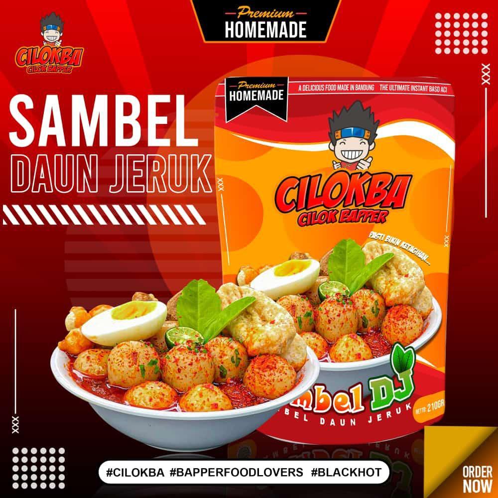 (READY STOCK) CILOKBA CILOK BAPPER BAPER TULANG RANGU SAMBEL IRENG & SAMBEL DAUN JERUK CILOK PEDAS