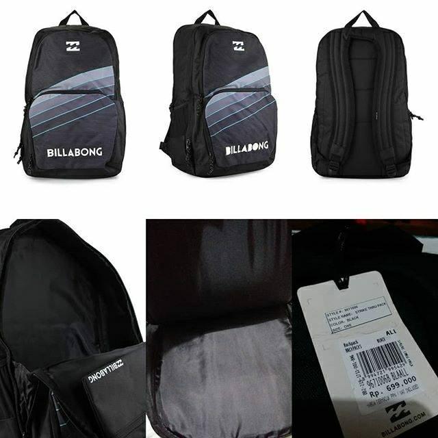 Tas Billabong Command Lite Pack Black Original  f34fdbb975