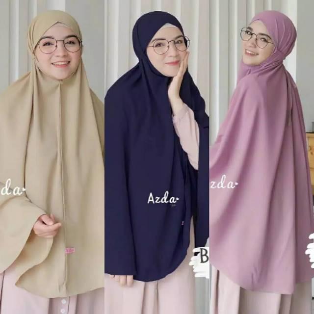 Bergo Aisyah Jumbo Daily Hijab Jilbab Instan Hijab Instan Khimar Tali Jumbo Shopee Indonesia