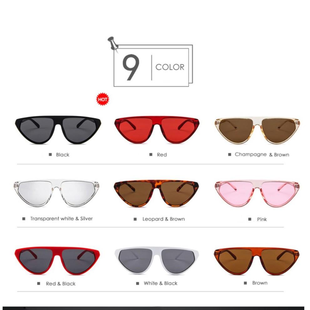 New 2019 Cat Eye Sunglasses - Kacamata Fashion - Kacamata Wanita .