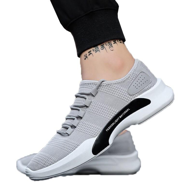 Techdoo Sepatu Fashion Pria Baru Tren Sepatu Kasual Bernapas Inggris Casual  Shoes SP302-A  3eab5ce65b