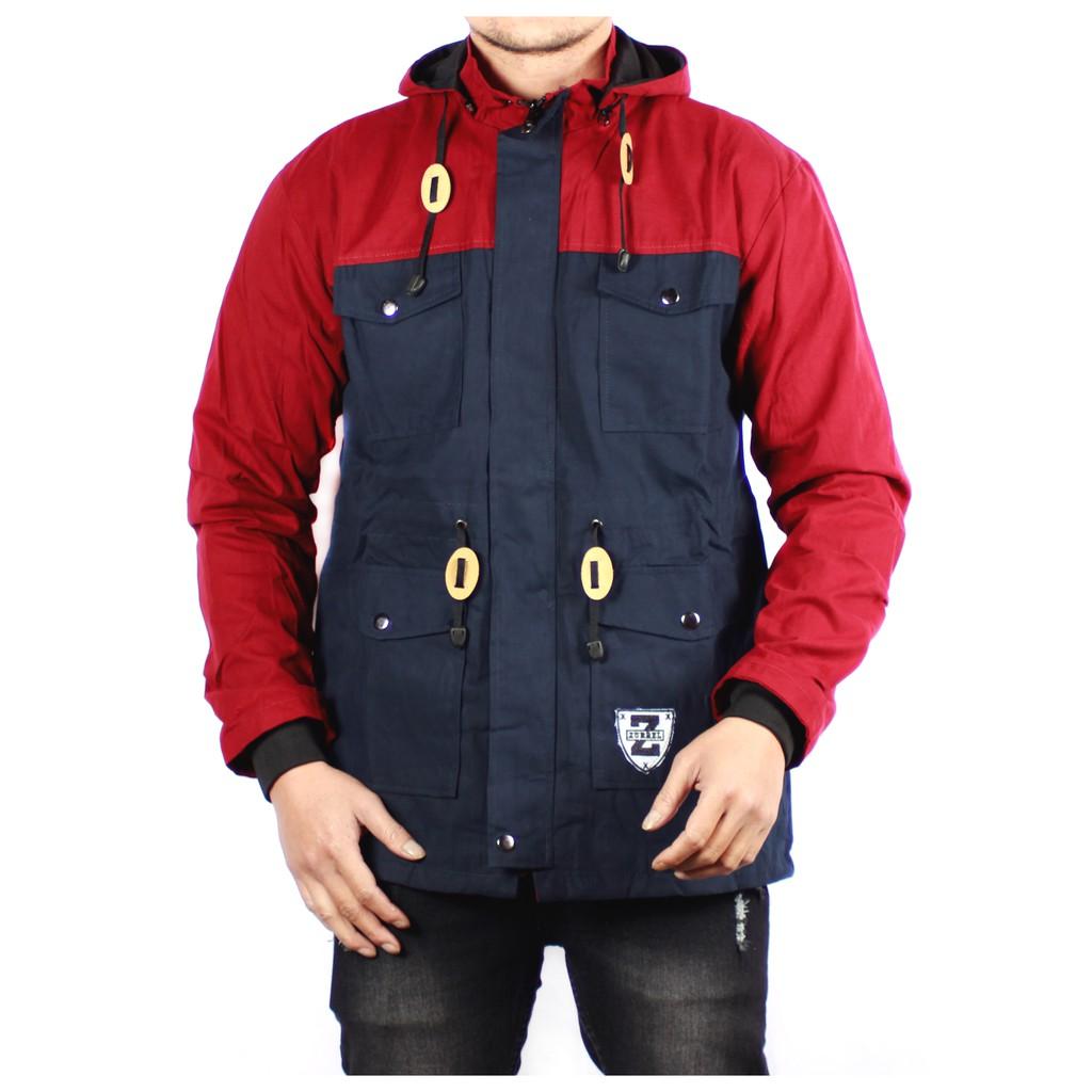 Jaket Hoodie Zipper Polos Motif Bintik Warna Biru Navy Shopee Sweater Dongker Indonesia