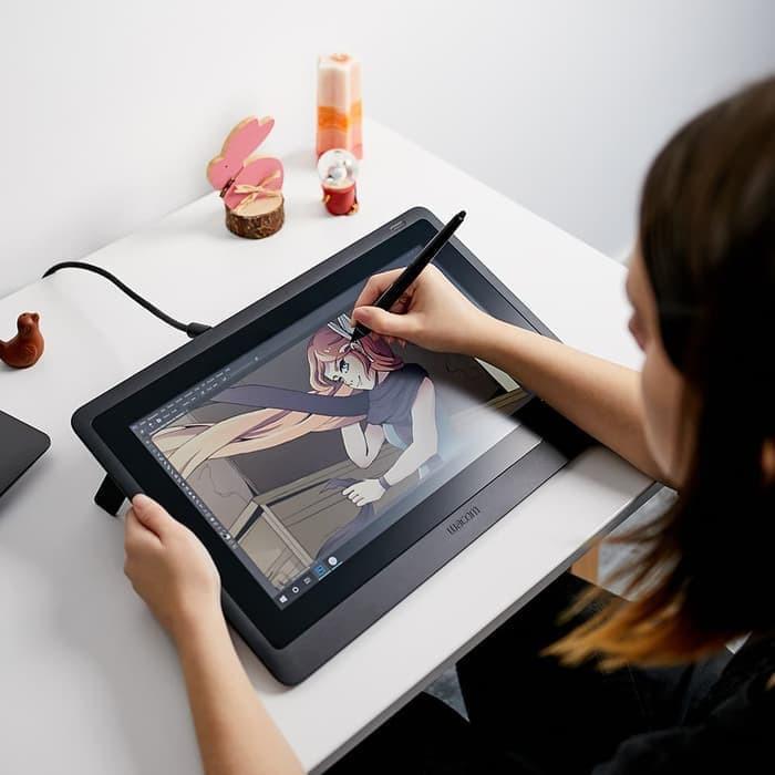 Wacom Cintiq 16HD Interactive Pen Display Tablet   Shopee Indonesia