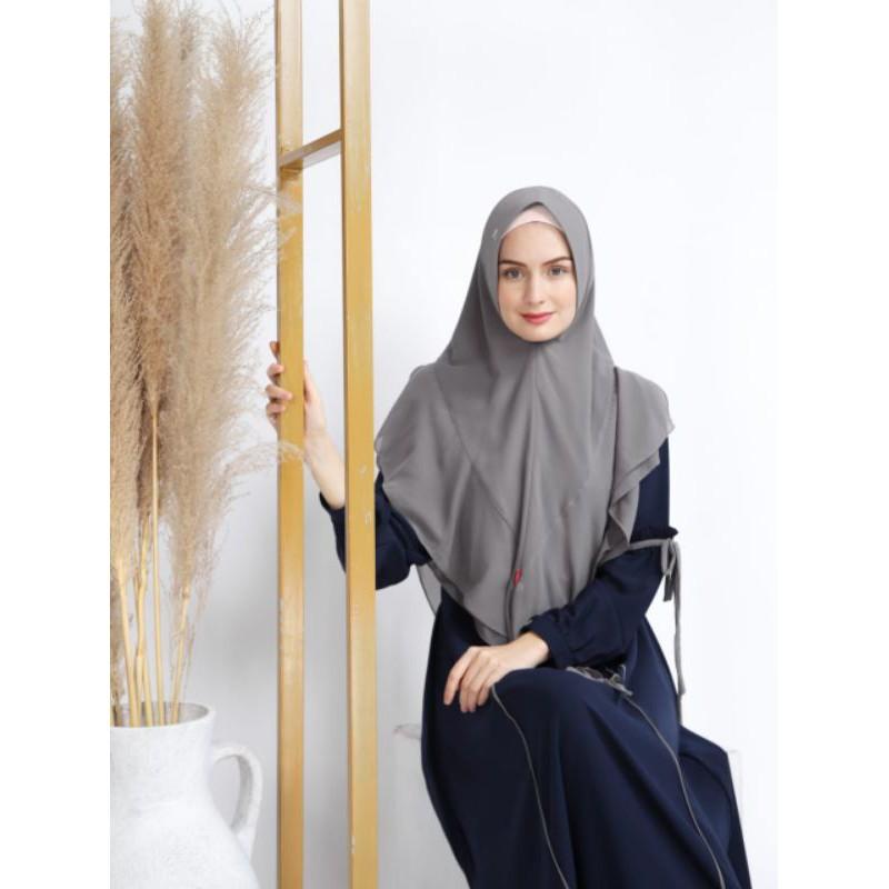 Set Gamis Hijab Terbaru Humaira by Akifa