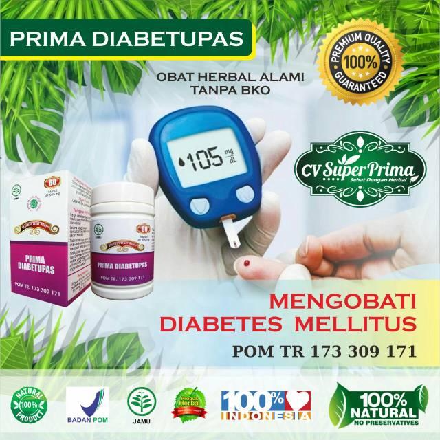 Herbal Diabetes Prima Diabetupas Diabetes Melitus Shopee Indonesia
