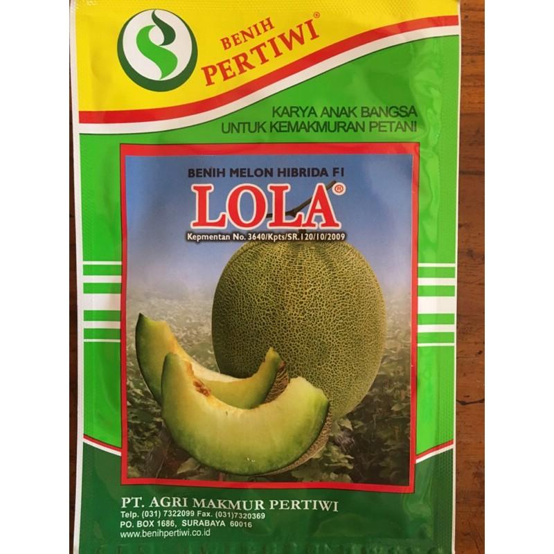 Benih Bibit Melon Pertiwi Lola