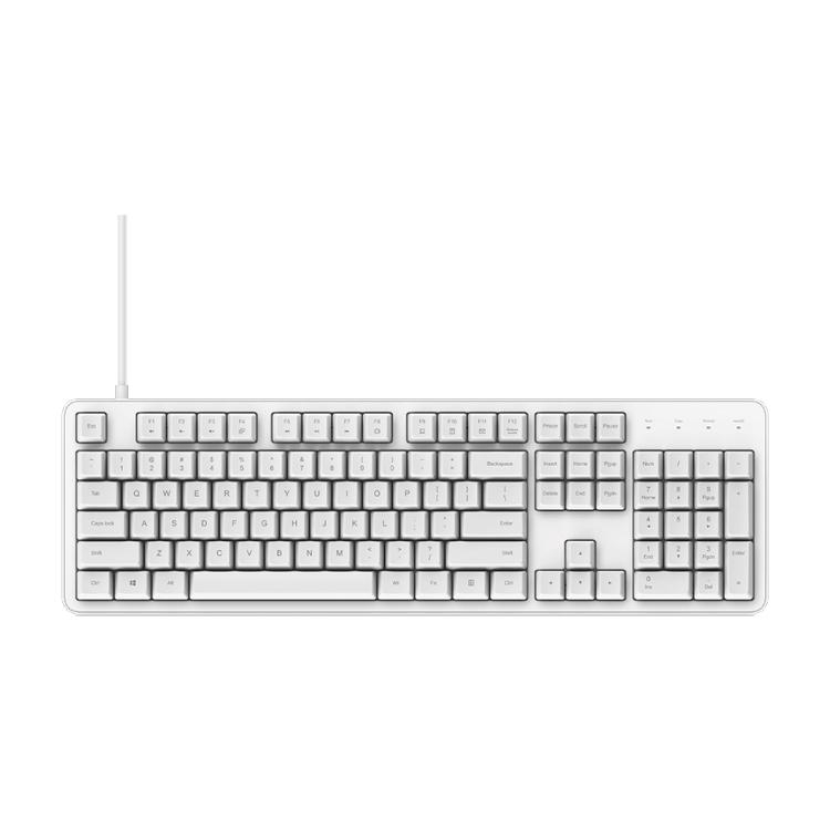 Wired Keyboard Original Xiaomi 104 Keys Cherry Shaft Mechanical Work Gaming Keyboard Shopee Indonesia