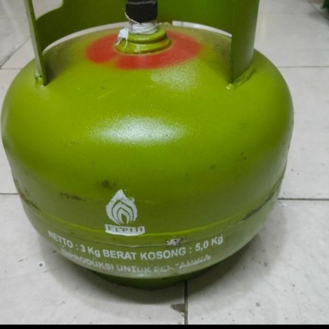 Tabung gas LPG 3kg kosong Tabung melon New