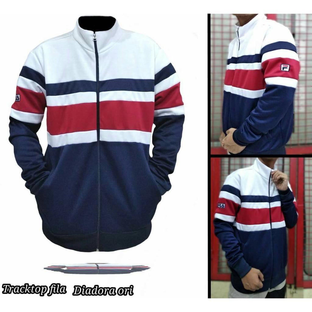 Jaket tracktop fila bahan DIADORA ORIGINAL  5b3683ff95