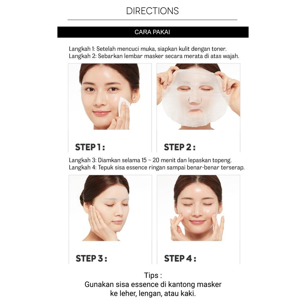 bpom missha airy fit sheet mask masker wajah original korea