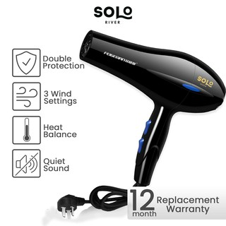 [ Bisa COD ] Hair dryer 900W Pengering Rambut Termurah Daya tinggi 5 Kecepatan Bergaransi thumbnail