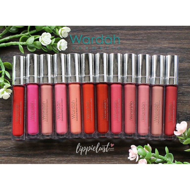 Wardah Exclusive Matte Lipstik Cream Wardah SALE