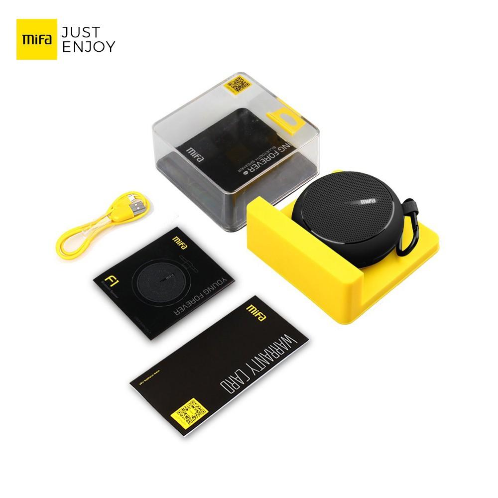 Xiaomi Mifa M1 Bluetooth Portable Speaker Cube With Micro Sd Grey Stereo Gray Premium Terbaru Promo Produk Pa