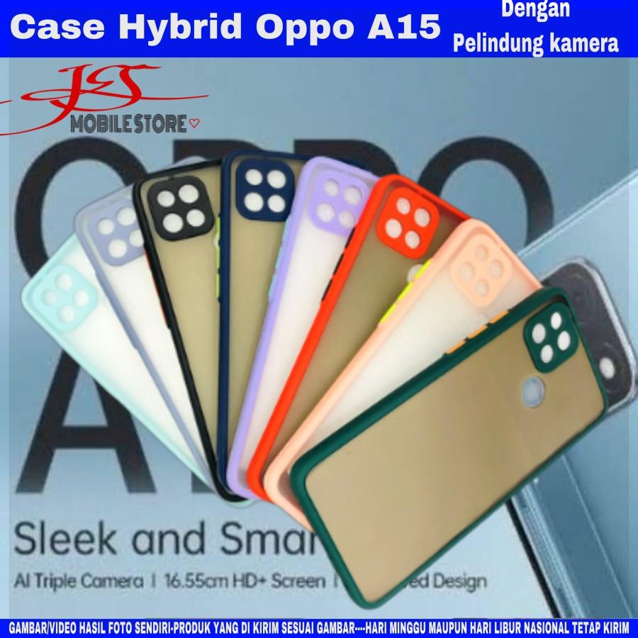 case Oppo A15 - silikon Oppo A15 - hardcase Oppo A15