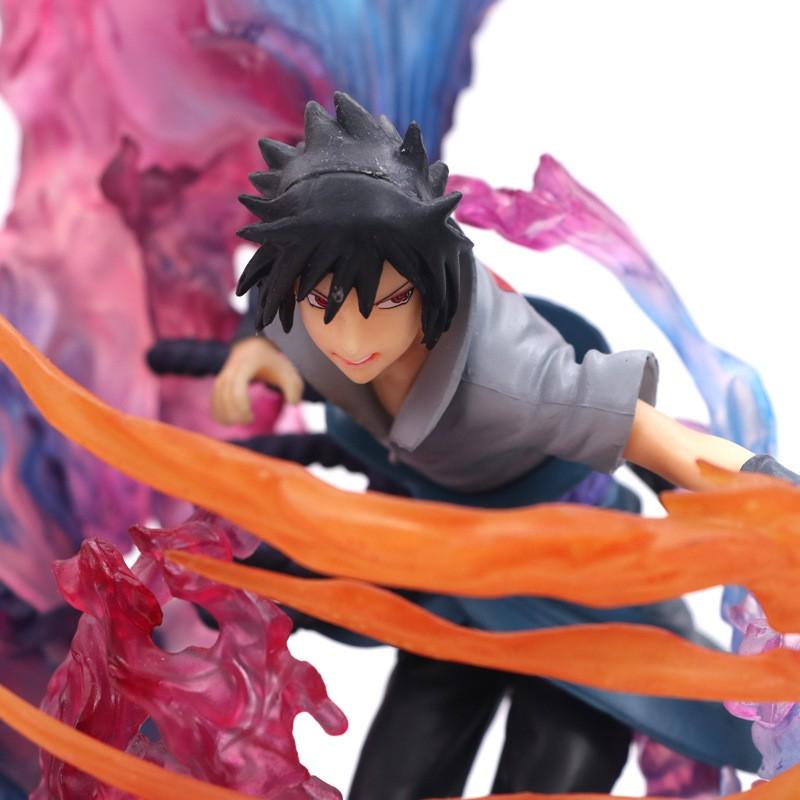 Anime Manga Naruto Uchiha Sasuke /& Uchiha Itachi Susanoo PVC Action Figure 21CM