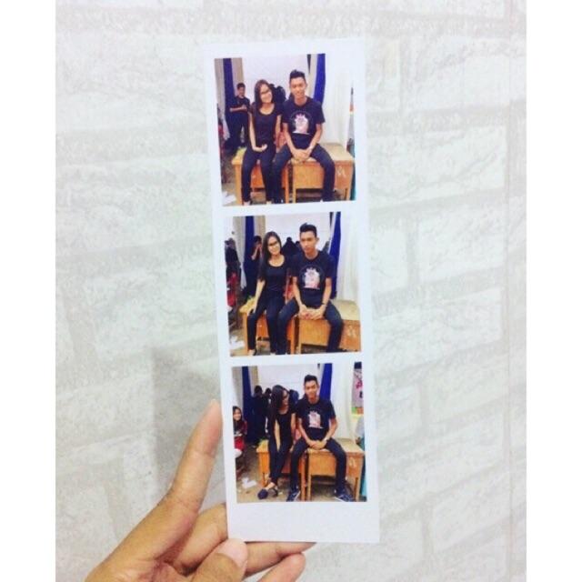 Polaroid strip / photo strip / polaroid isi 3