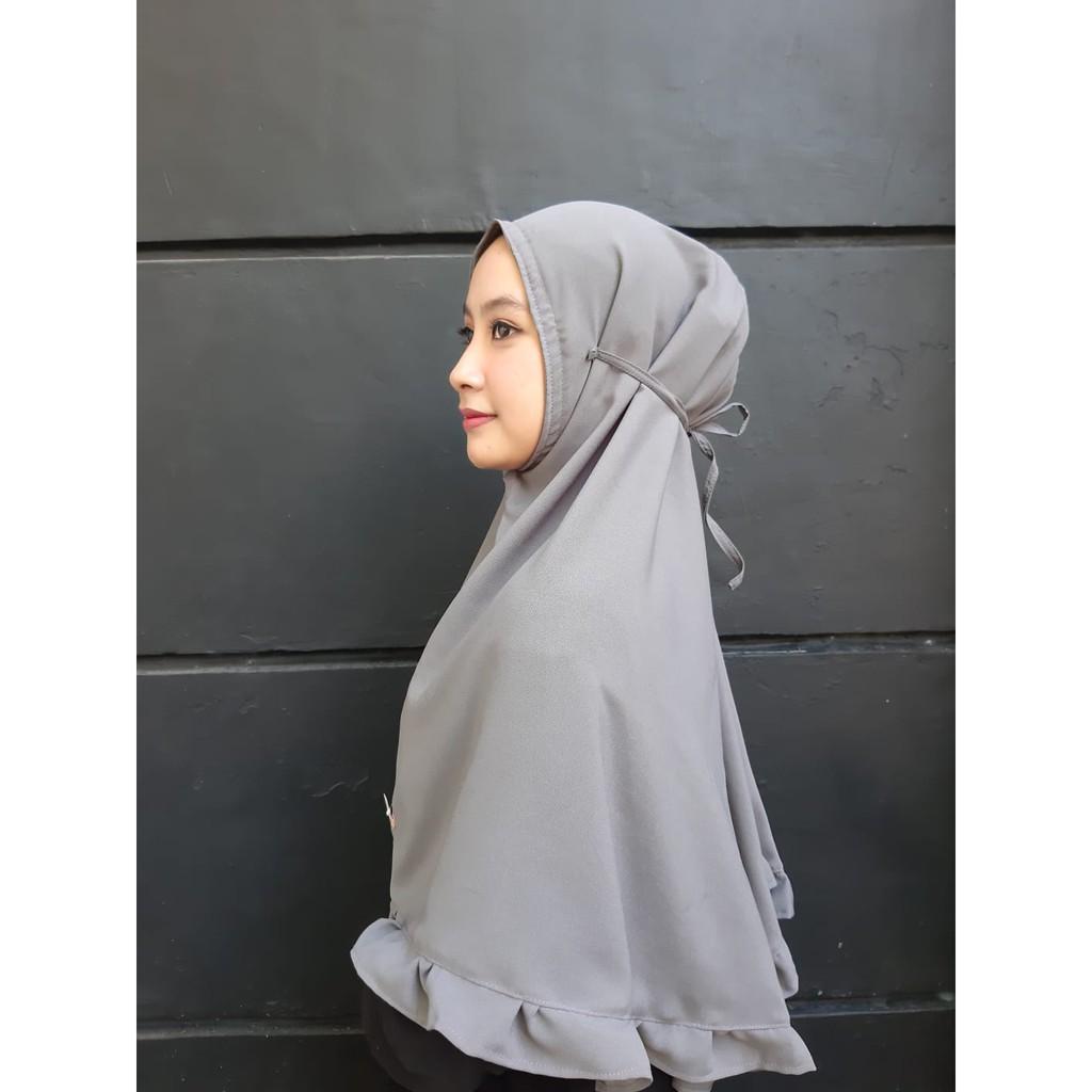 Hijab Bergo Rempel By Qiqo Id Shopee Indonesia
