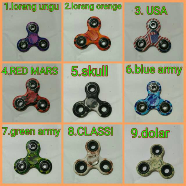 PROMO Fidget Spinner BESI MINI / Hand Spinner KUALITAS BAGUS   Shopee Indonesia