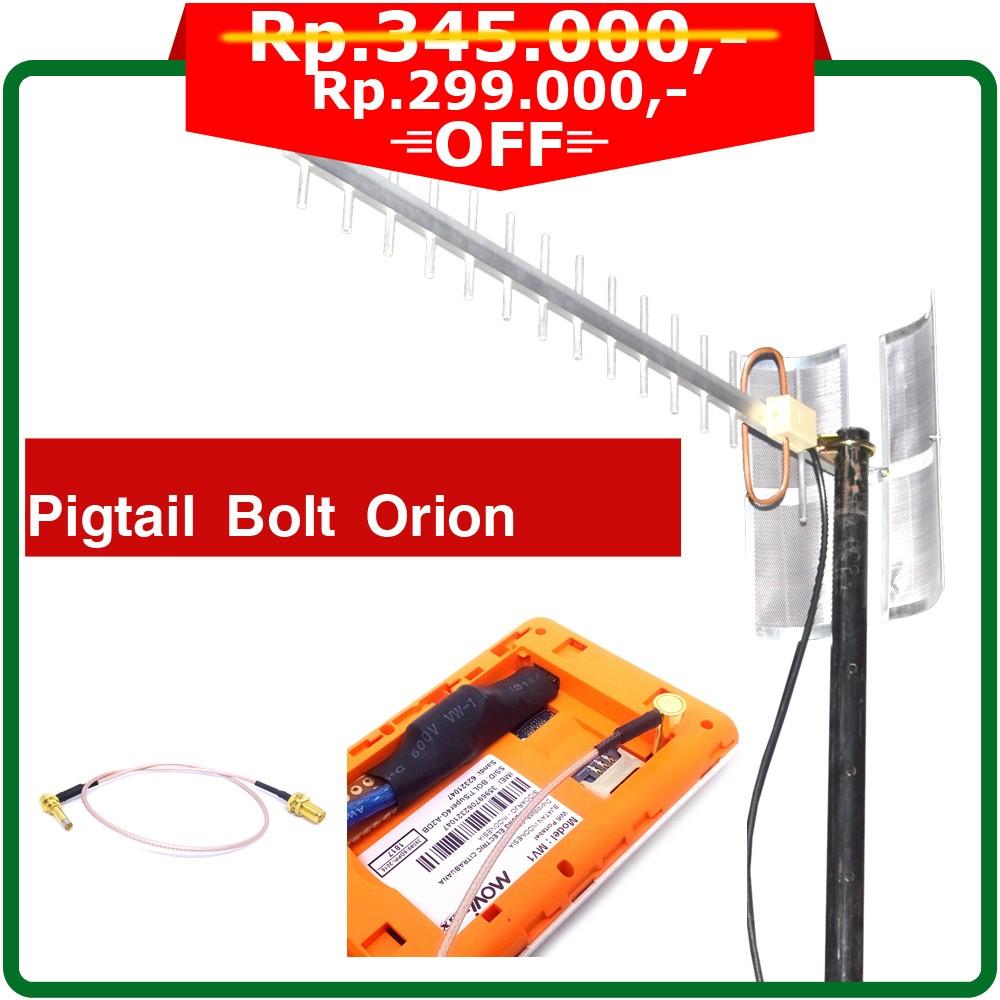 Antena Yagi 4G Extreme III Economic Modem Wifi Bolt Orion MOVIMAX MV1