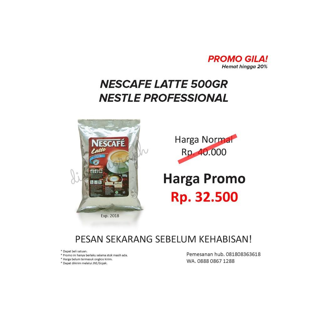 Nescafe Latte By Nestle Professional Daftar Harga Terbaru Dan Pro