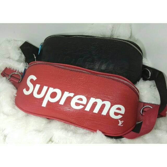 029de5a795c2 Waist bag Tas pinggang LV supreme belt bag