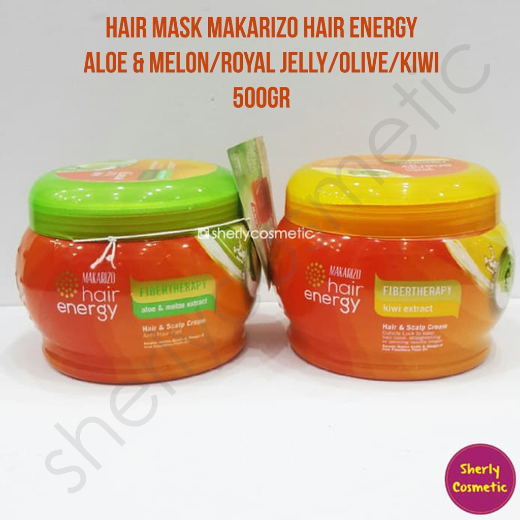 Sherly Cosmetic Hair Mask Makarizo Hair Energy Fibertherapy 500gr Shopee Indonesia