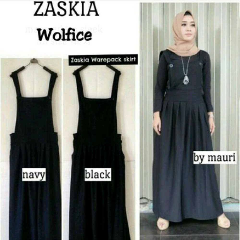 Zaskia Mecca Elena Grey Tunik Shopee Indonesia Elvia Hitam
