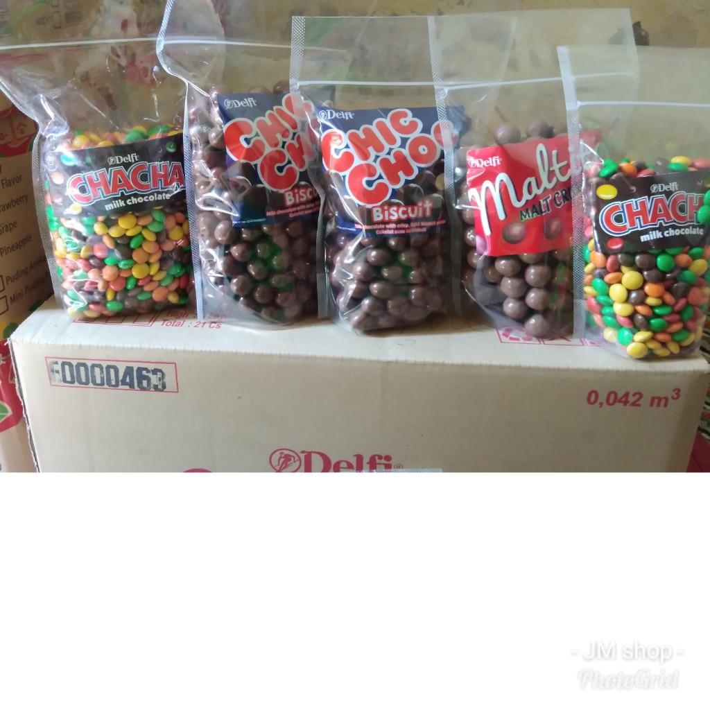 Coklat Cha Chacha Delfi Peanut Kuning Milk Chocolate Netto 7 Gram Shopee Indonesia