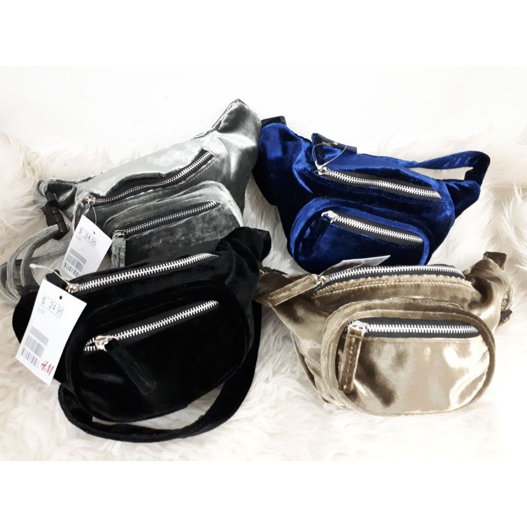 Tas Supreme Slempang Uk 19x21 Shopee Indonesia Waist Bag Premium Img3135