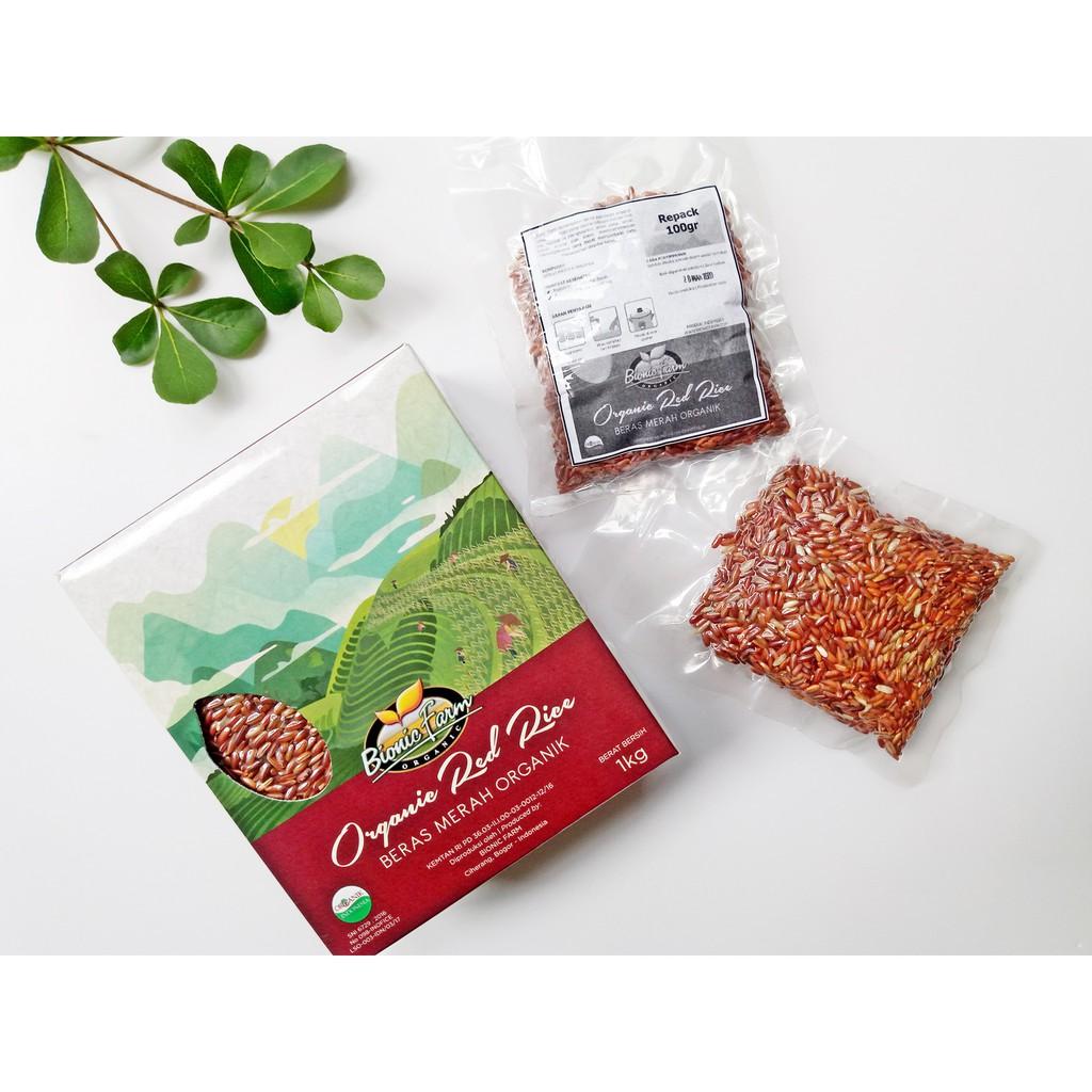Beras Organik Lingkar Merah Pecah Kulit Putih By Sehat Bogor Coklat Hitam Mix Shopee Indonesia