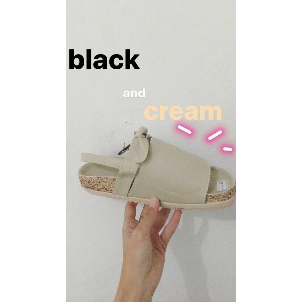 Deyashoes Birken Kanya White Shopee Indonesia Homyped Viola B 25 Black
