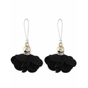 LRC Anting Tusuk Fashion Color Flower Shape Decorated Earrings | Shopee Indonesia