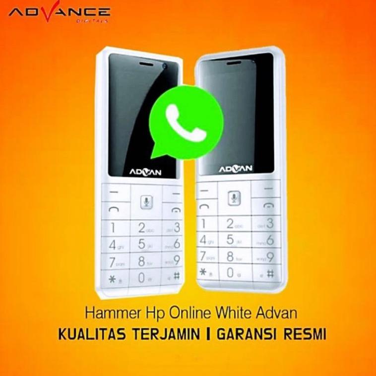 Hp Handphone Advan Hape Online 4G bisa WA Whatsapp not Nokia 2720