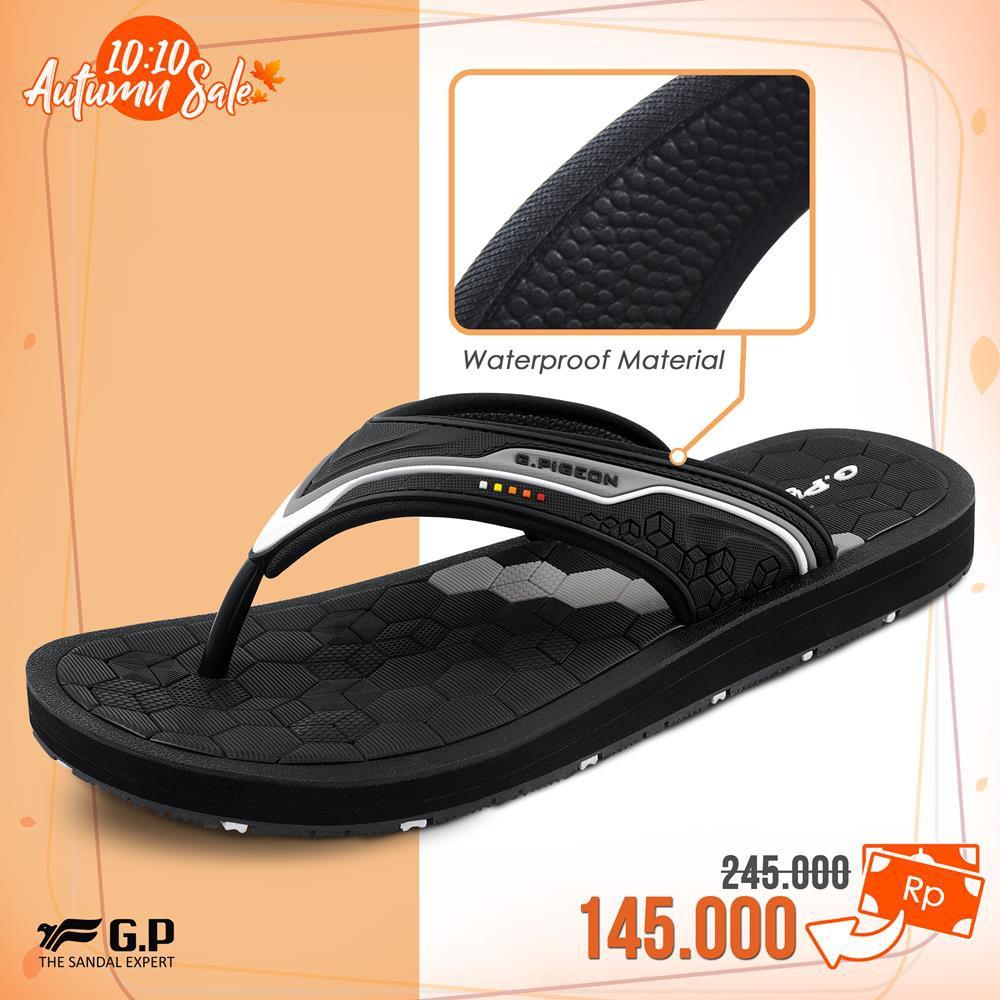 Carvil Sandal Pria Antonio Gm Black Terracotta Shopee Indonesia Gunung Men Esperanto Brown Orange 43