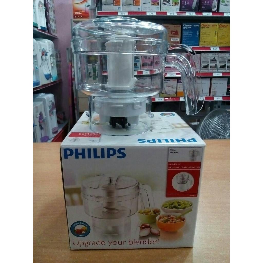 Philips Dry Mill Blender Hr 2100 2102 2104 2106 2108 2113 2057 03 White Green Plastik Jug 280 W Perajang Pencacah Chopper 2939 Asli Original Shopee