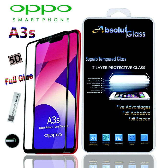Tempered Glass Absolut Xiaomi Pocophone F1 Full Lem 5D Full Cover | Shopee Indonesia