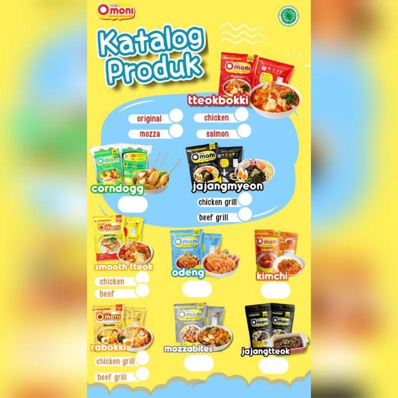 Omoni Korean Halal Food / Frozen Food