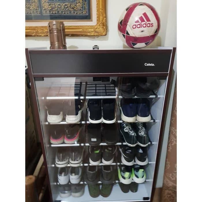 Rak Sepatu Rak Sandal Kaca Rak Sepatu Kayu Partikel Shopee
